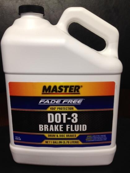 DOT-3 Brake Fluid - 1 gal - SYL FH128