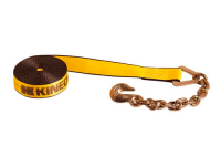 "Winch Strap - 2"" x 30' - w/ Chain & Hook - KIN 223039"