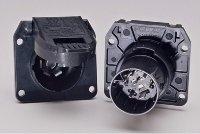 7 Way - RV OEM Replacement Socket - POL 11-893