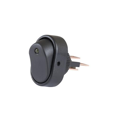 Rocker Switch - LED - Amber - DEC 7700110