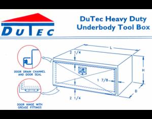 Dutec Tool Boxes - Dutec