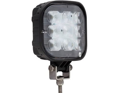 "LED - Work Light - Flood Beam - 4.5"" Square - OPT TLL-55FBP"