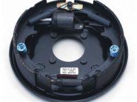 "10"" Hydraulic Right Brake Assembly - K23-313-00"