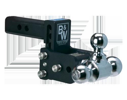 "Model 6 Black - Tow & Stow - 10K / 2"" Tube - TS10047B"