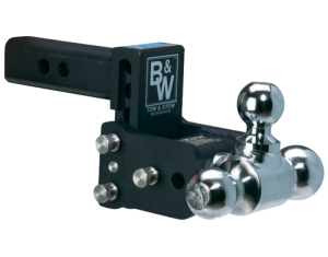 "Model 8 Black - Tow & Stow - 10K / 2"" Tube - TS10048B"