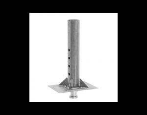 Gooseneck to King Pin Adapter Round - 0289640300