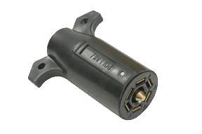 7-way Blade Plastic Plug - 12706