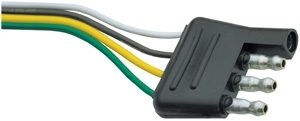 4-way Trailer End Plug - 2501