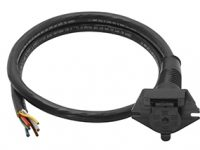 6-way Molded Car End Cable & Plug - 50-86-004