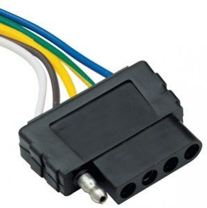 5-way Car End Flat Plug - 118016