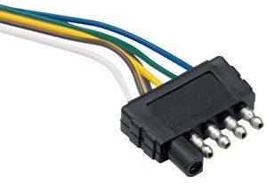 5-way Trailer End Flat Plug - 118017