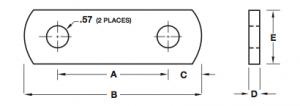"""3-1/8"""" Shackle Link - SL04"""