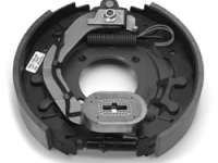 """12.25"""" Electric Brake LH - cast backing plate (after May 2000) - K23-428-00"""
