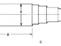 "BT9 Spindle 1-1/4"" - R104BT9"