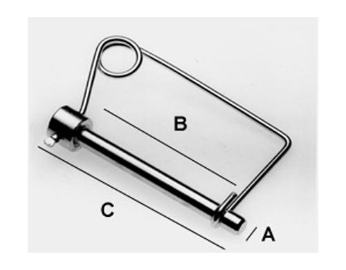 "Lox-All Sta-Pin - 1/2"" - BHI LX126"