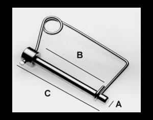 "Lox-All Sta-Pin - 3/4"" - BHI LX346"