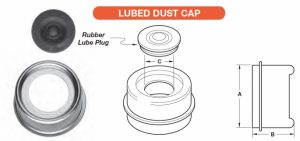 Grease / Dust Cap - Lubed