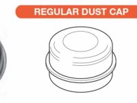Grease / Dust Cap - Standard