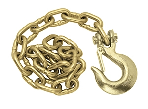Safety Chain - 1/2'' hook - 42'' - 45,200#