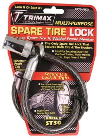 Spare Tire Cable Lock