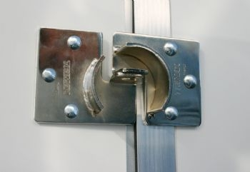 Trailer Door Hasp - THSP2C