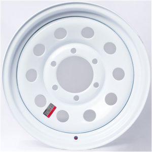 "12"" White Mod Wheel - W124440WM"