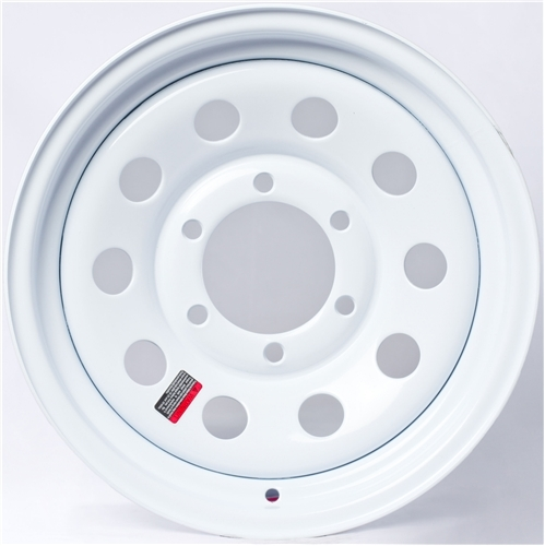 "12"" White Mod Wheel - W124440WM"