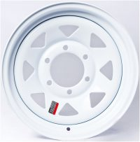"12"" White Spoke Wheel - W124440WS"