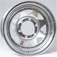 "12"" Galvanized Spoke Wheel - W124545GS"