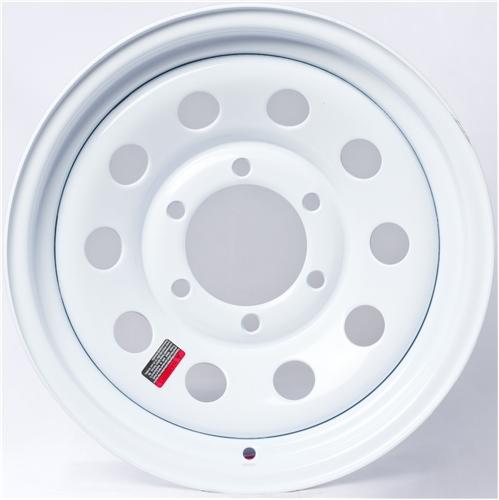 "12"" White Mod Wheel - W124545WM"