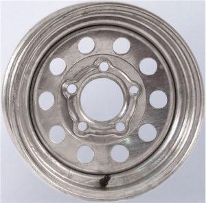 """13"""" Galvanized Mod Wheel - W134.5545GM"""