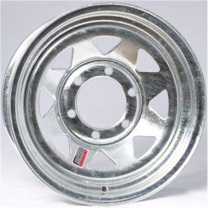 "13"" Galvanized Spoke Wheel - W134.5545GS"