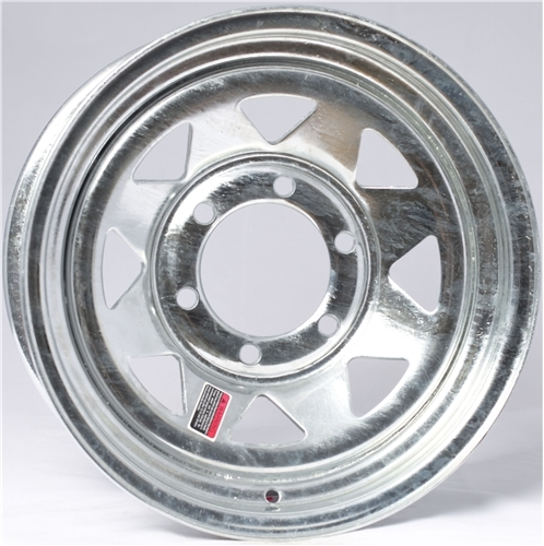 "13"" Galvanized Spoke Wheel - W134.5545GS"