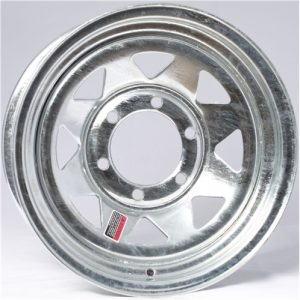 "15"" Galvanized Spoke Wheel - W156545GS"