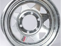 "15"" Galvanized Spoke Wheel - W156655GS"
