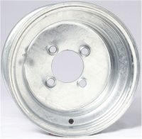 "8"" Solid Galvanized Wheel - W8375545GP"