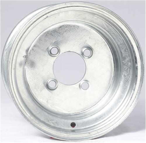 "8"" Solid Galvanized Wheel - W8375545GP"