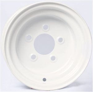"""8"""" Solid White Wheel - W8375545WP"""