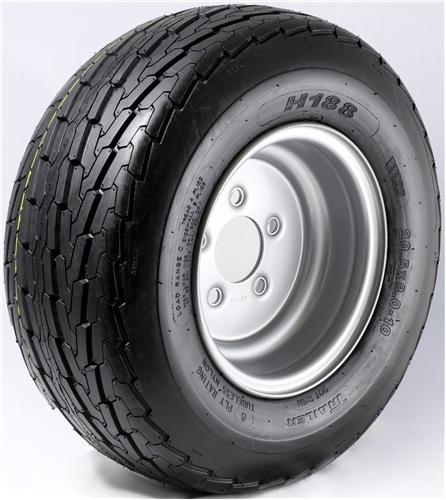 "10"" Galvanized Wheel/Tire - WTB106440GP20.5D"