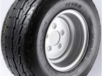 "10"" White Wheel/Tire - WTB106545WP20.5D"