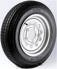"12"" Galvanized Wheel/Tire - WTB124440GS480B"