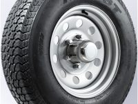 "13"" White Spoke Wheel/Tire - WTB134.5545WS175C"