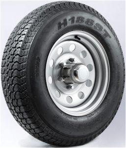"13"" White Spoke Wheel/Tire - WTB134.5545WS175C"