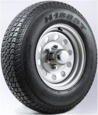 "14"" Galvanized Wheel/Tire - WTB146545GS205C"