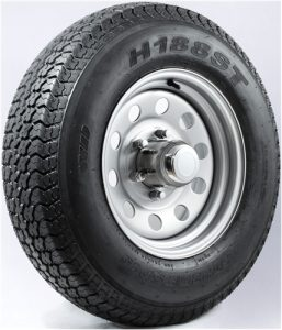 "15"" White Mod Wheel/Tire - WTB155545WM205C"