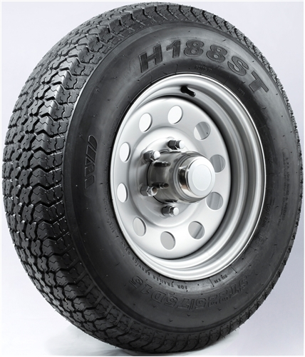 "15"" White Mod Wheel/Tire - WTB155545WM205C"