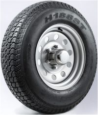 "15"" Silver Mod Wheel/Tire - WTB155550SM225D"