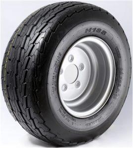 "8"" White Wheel/Tire - WTB8375440SP480B"