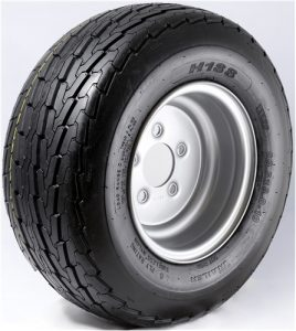 "8"" White Wheel/Tire - WTB8375545SP480B"