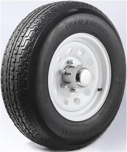 "15"" Silver Mod Wheel/Tire Radial - WTR156655SM225D"